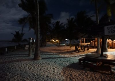 Kilwa beach Lodge night