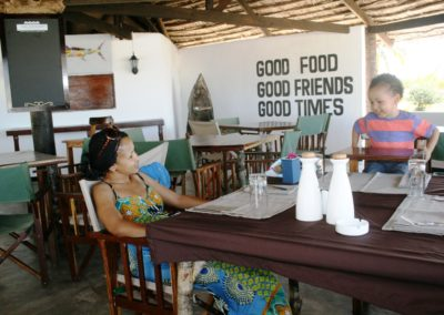 Kilwa kimbilio restaurant