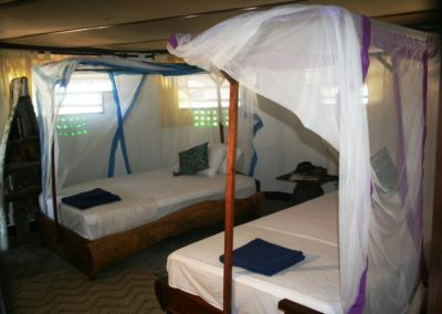 kilwa beach room
